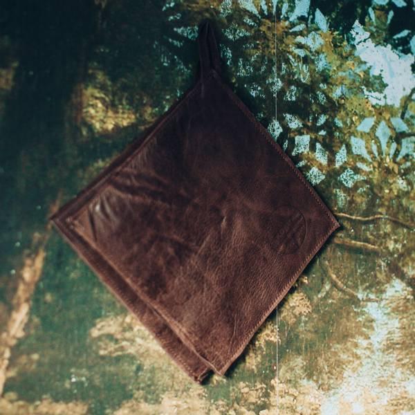 Grytelapper mørk brun